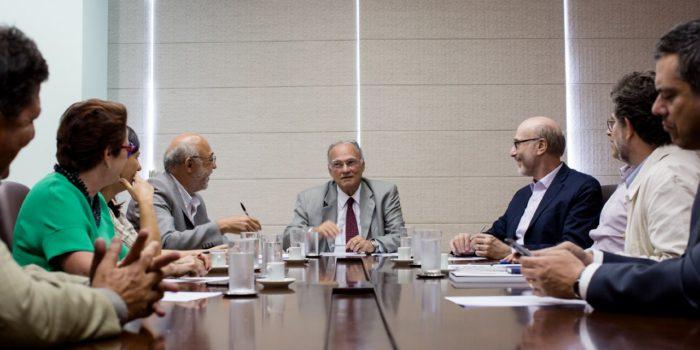 Representantes Do Fórum Brasileiro Pelos Direitos Culturais São Recebidos Pelo Ministro Da Cultura