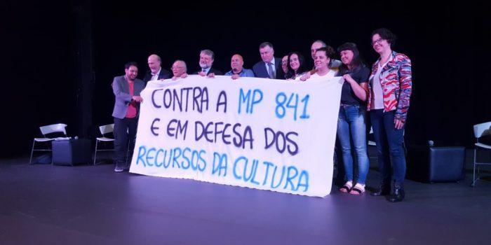 Ato De Repúdio Contra MP841 Reúne Entidades Culturais No TUCA Em São Paulo